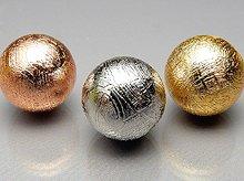 ギベオン隕石|10mm|コッパー・シルバー・ゴールド各色|粒売り