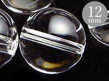 12mmラウンドビーズ|天然スパイラル水晶|ブラジル産クリアクォーツ|粒売り