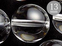 13mmラウンドビーズ|天然スパイラル水晶|ブラジル産クリアクォーツ|粒売り