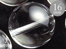 16mmラウンドビーズ|天然スパイラル水晶|ブラジル産クリアクォーツ|粒売り