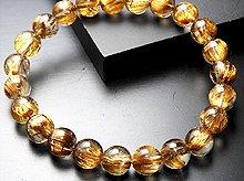 高品質タイガールチルクォーツ|双晶 8.5mm玉|スパイラル水晶|左右両用ブレスレット No.2