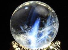エンジェルラダークォーツ(エンジェルフェザークォーツ) No.33|左水晶 21.8mm|天然スパイラル水晶