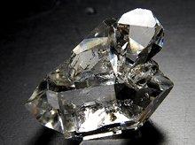 ハーキマーダイヤモンド No.6|クォーツインクォーツ、キークリスタル|SA級結晶|18.3mm 2.8g