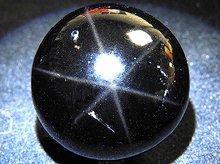 スターモリオン|チベット産天然黒水晶|右水晶|丸玉 30.7mm|No.7