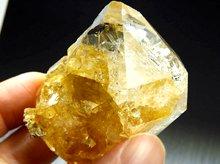 希少ライモナイト入り|ハーキマーダイヤモンド大型結晶|59mm 97.7g|No.8