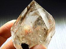 ハーキマーダイヤモンド大型結晶|タイムリンク(過去&未来)、レコードキーパー|70mm 131.6g|No.9