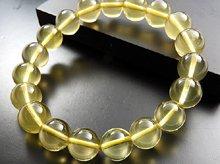 スターレモンクォーツ|左水晶 11mm玉|左手用ブレスレット|ブラジル産