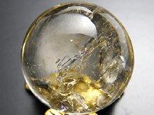 水入り水晶|マダガスカル産エレスチャルクォーツ|双晶|丸玉 20mm|天然スパイラル水晶