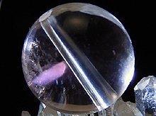 ピンクエンジェルラダークォーツ|ラウンド12mm|左水晶|粒売りビーズ No.3