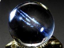エンジェルラダークォーツ No.39|日本製無垢水晶玉|双晶 15mm|天然スパイラル水晶