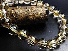 宝石質タイチンルチルクォーツ 右水晶 8mm玉 No.9 天然スパイラル水晶 右手用ブレスレット
