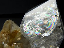 ハーキマーダイヤモンド原石|大粒結晶母岩付きクラスター|アメリカ産|13.6g|No.11