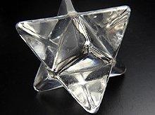 天然水晶マカバ(星型二重正四面体)|左水晶|40mm No.4
