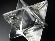 天然水晶マカバ(星型二重正四面体)|右水晶|40mm No.5