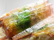宝石質パーティーカラードトルマリン|ブラジル産原石|202g