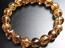 宝石質タイガールチルクォーツ|双晶 10mm玉|スパイラル水晶|左右兼用ブレスレット