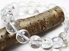 ヒマラヤエレスチャルクォーツ|左水晶 10mm|左手用ブレスレット|天然スパイラル水晶
