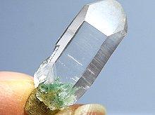 珍しい樹枝状結晶!フックサイトインクォーツ(セプタークォーツ)|原石ポイント|マダガスカル産|22.2mm 1.7g