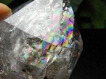 ハーキマーダイヤモンド大型結晶|レインボー、貫入水晶、タイムリンク、キークリスタル|アメリカ産|111.6g|No.14