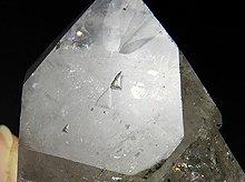 ハーキマーダイヤモンド大型結晶|レコートキーパー、レインボー、キークリスタル|アメリカ産|68.5g|No.18