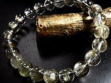 プラチナルチルクォーツ|双晶 8mm玉|天然スパイラル水晶|左右兼用ブレスレット|No.2