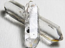クロスクォーツ(水入り水晶、クォーツインクォーツ)|チベット産水晶|No.2