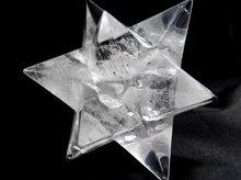 天然水晶アステロイドマカバ(星型正十二面体)|90mm 299g|No.3