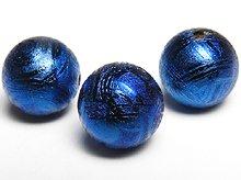 【鑑別書あり】ギベオン隕石|メタリックブルー|8mm|粒売り