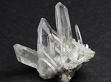 マニハール産ヒマラヤ水晶|グリーンファントムクォーツ|原石ミニクラスター|13.6g No.1