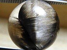 プラチナルチルクォーツ|双晶 11mm|天然スパイラル水晶|粒売りビーズ No.2