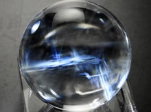 エンジェルラダークォーツ(エンジェルフェザー)|左水晶 20mm|No.42