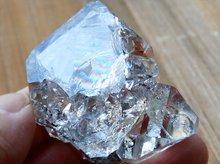 ハーキマーダイヤモンド|レインボー、レコードキーパー|大型結晶原石|アメリカ産|47mm 58g|No.21