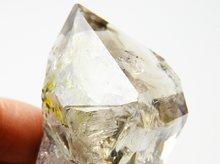 ハーキマーダイヤモンド|レインボー、ファントム|大型結晶原石|アメリカ産|57mm 92g|No.22