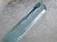 宝石質ヒマラヤアクアマリン(蝕像結晶)|スカルドゥ産|49mm 31.7ct No.1