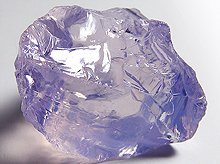宝石質スコロライト|研磨用ラフ原石|28mm 64ct|No.2