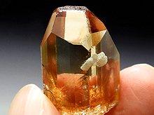 宝石質ヒマラヤトパーズ(蝕像結晶)|スカルドゥ産|24mm 93ct No.1