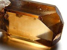 宝石質ヒマラヤトパーズ(蝕像結晶)|スカルドゥ産|25mm 60ct No.2