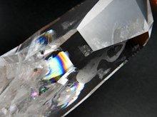 虹入りコロンビアレムリアンシードクリスタル|クォーツインクォーツ|266g 113mm|ペーニャ・ブランカ産|No.7