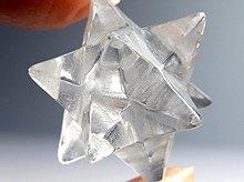 天然水晶アステロイドマカバ(星型正十二面体)|ミニサイズ