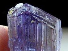 宝石質タンザナイト(非加熱バイカラー)|タンザニア産|原石 18mm 19ct|No.2
