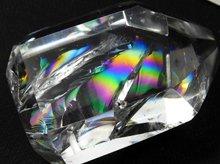 最上級天然レインボー水晶|ランダムカット 39mm 39.6g|No.1