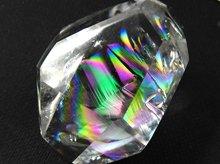 最上級天然レインボー水晶|ランダムカット 34mm 34.5g|No.2