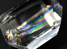 最上級天然レインボー水晶|ランダムカット 45mm 47.6g|No.3