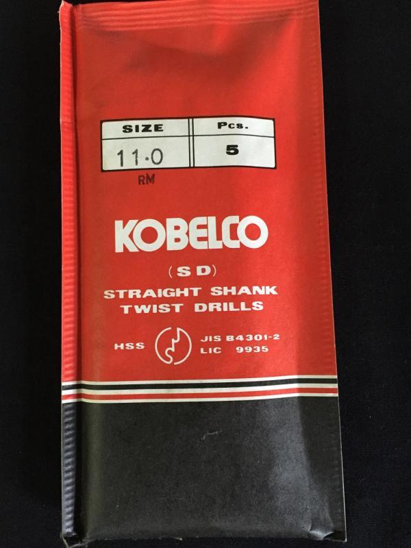 コベルコ 鉄工ドリル SD HSS 11.0mm 5本組
