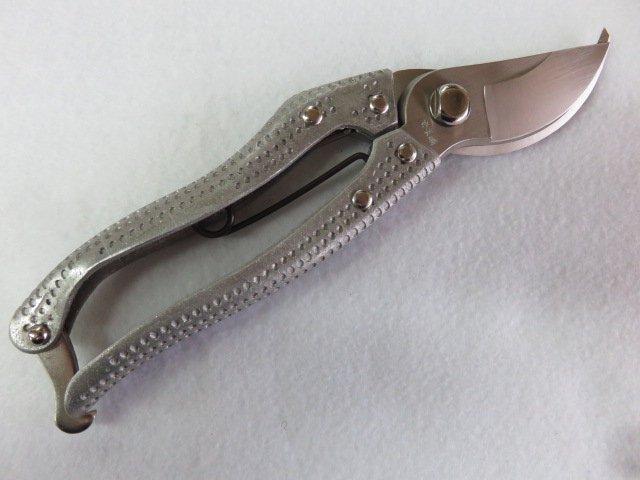 オノテツ 軽量アルミ ぶつぶつグリップ 剪定鋏 200mm