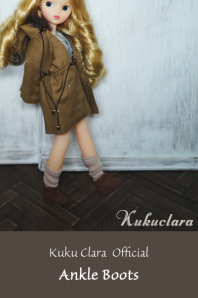 【Kuku Clara】Ankle Boots(Official商品)
