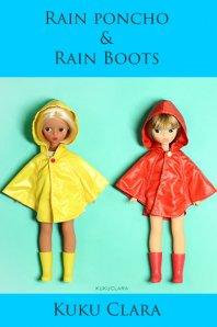 ★デットストック品★【Kuku Clara】Rain poncho(Official商品)