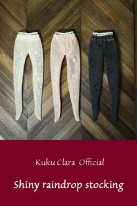★デットストック品★【Kuku Clara】Shiny raindrop stocking(Official商品)