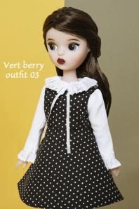 ★デットストック品★【Kuku Clara】Vert Berry Outfit Set 03(Official商品)