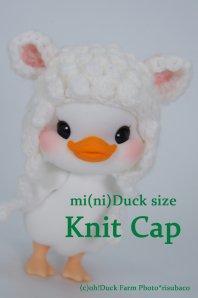 【SALE】Knit Cap(mi(ni)Duck/Happy Duck用)